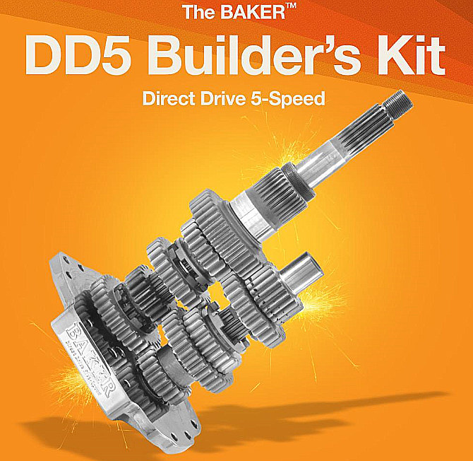 DD5: Direct Drive 5-Speed Builder's Kit FXR 1987 TO 1989
